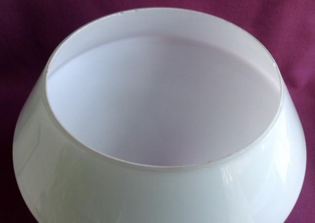 Плафон для торшера и бра Конус.  Двойное белое молочное стекло. - Одеса 5