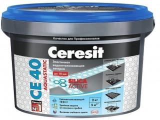Эластичная затирка для швов Ceresit CE 40 Aquastatic - Харків