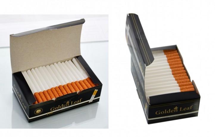 Гильзы для сигарет Golden Leaf 100 шт. оптом - Київ 0
