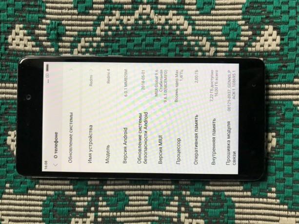 Cмартфон Xiaomi Redmi 4 16Gb - Кривий Ріг 3