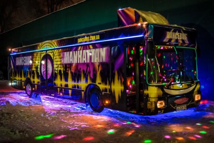 PartyBus Manhattan дискотека на колесах пати бас патибас Party Bus - Київ 3