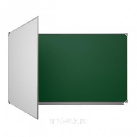 Доска настенная магнитная для мела (100х150) - Київ 2