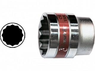 Головка торцевая Matrix Master 32 мм двенадцатигранная CrV под квадрат - Київ