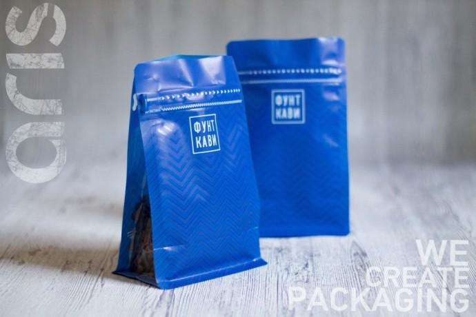 Пакет с плоским дном для продажи творога - Харків 1