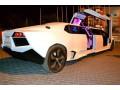 003 Лимузин Lamborghini Reventon белая - Київ 3