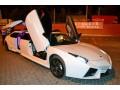 003 Лимузин Lamborghini Reventon белая - Київ 0