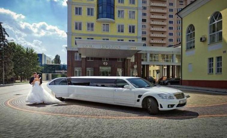 030 Лимузин Mercedes W221 S600 белый - Київ 0