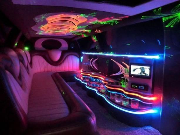 030 Лимузин Mercedes W221 S600 белый - Київ 3