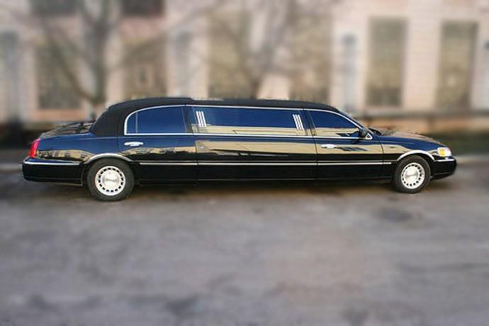 051 Лимузин Lincoln Town Car черный - Київ 1