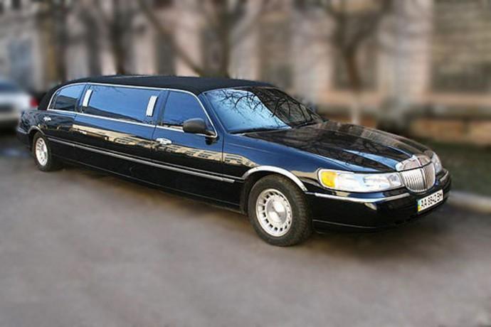 051 Лимузин Lincoln Town Car черный - Київ 0