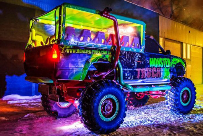 069 Party Bus Monster truck пати бас - Київ 7