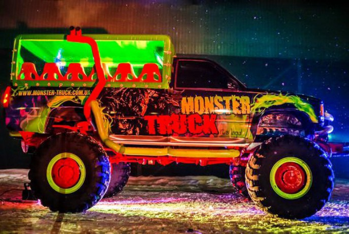 069 Party Bus Monster truck пати бас - Київ 6