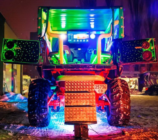 069 Party Bus Monster truck пати бас - Київ 8