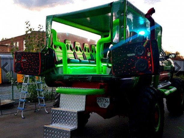 069 Party Bus Monster truck пати бас - Київ 9